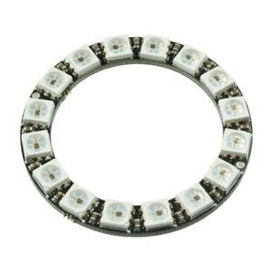 16-Bit-RGB-LED-Ring-WS2812-5050-RGB-LED-Integrated-Drivers-For-Arduino-Kj