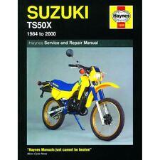 haynes manual 1599 for suzuki ts50x 1984 to 2000 Free ATV Wiring Diagrams