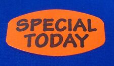 1000 Self Adhesive Special Today Labels 15 X 075 Stickers Retail Supplies