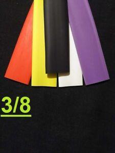"1FOOT 3//8 /"" inch 9.5mm YELLOW 2:1 heat shrink tubing polyolefin"