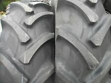 Two 184x30 8 Ply R 1 Tube Type Farm Tractor Tires Fit Ford Deere