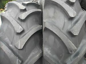 TWO-18-4X30-8-ply-R-1-Tube-Type-Farm-Tractor-Tires-Fit-FORD-DEERE