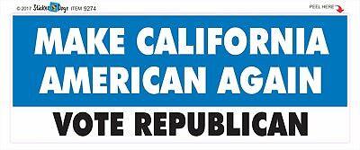"""White Straight and Conservative Anti Liberal Bumper Sticker 9/"""" x 3/"""""""
