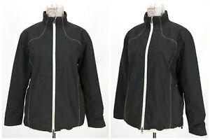 Womens-Galvin-Green-Golf-Jacket-Gore-Tex-Full-Zip-Nylon-Black-Wind-Stop-Size-L