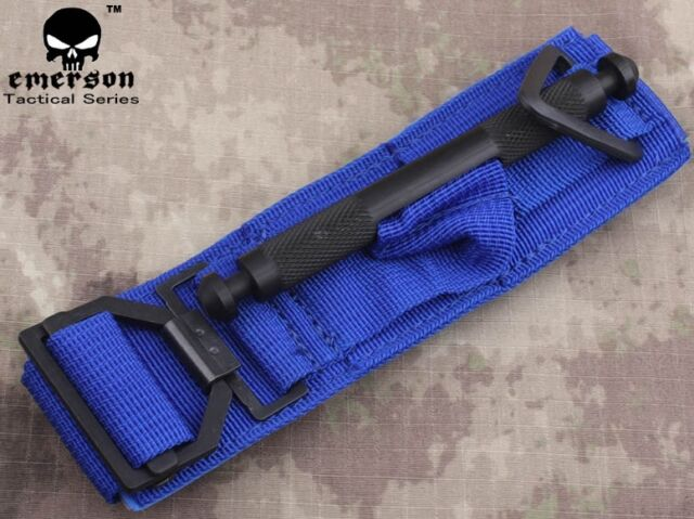 EMERSON Tactical Tournique Military Survival Medic Accessories Airsoft Army Blue