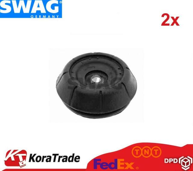 2x SWAG 40540006 SHOCK ABSORBER TOP MOUNT CUSHION SET
