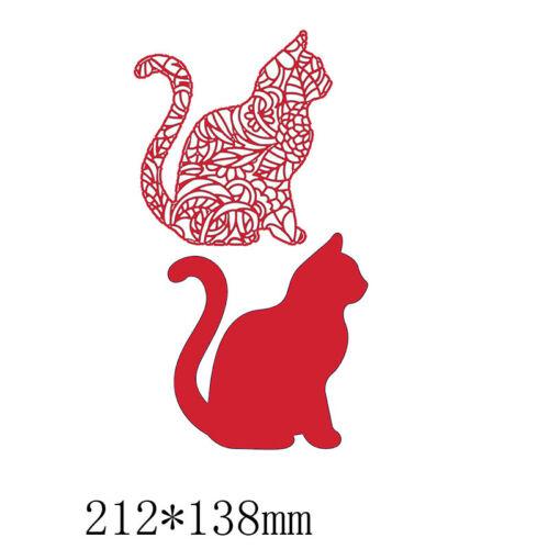 Insekt Cat Metall Stanzformen Schablone Für Scrapbooking Fotopapier Karten