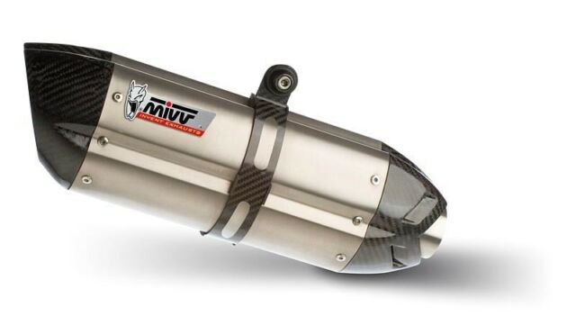 Y.003.L7 - Schalldämpfer Auspuff  Mivv Suono Steel Yamaha YZF 600 R6 99/02