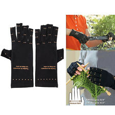 New Soft Unisex Magnetic Arthritis Gloves Relief Therapeutic Compression