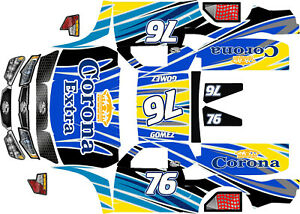 Losi 5ive T Wrap decals stickers TROPHY TRUCK CORONA S HPI Baja 5 T 5sc Woodster