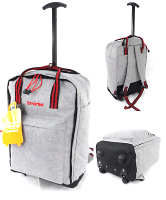 Ryanair 50x40x20cm cabine approuvé Spinner Valise Trolley bagages à main Valise Sac