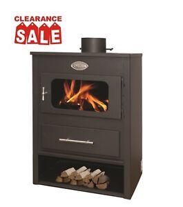 7kW Multi Fuel Log Wood Burner Burning Stove Fireplace Woodburner *** SALE***