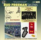Four Class Albums Plus (Bud Freeman/Chicago and All That Jazz/Chicago-Austin High School Jazz In Hi-Fi/The Bud Freeman Group) * by Bud Freeman (CD, Nov-2012, 2 Discs, Avid Jazz)