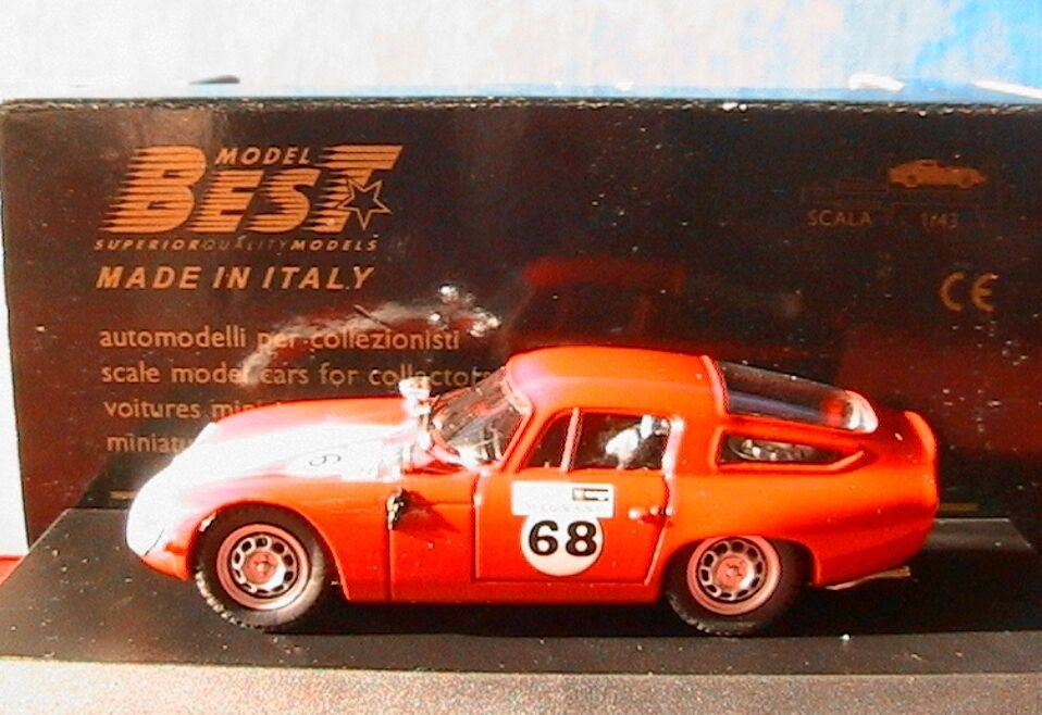 ALFA ROMEO TZ1 III  68 TROFEO ASCARI MONZA 1993 BEST MODELS PROM11 1 43 LIMITED