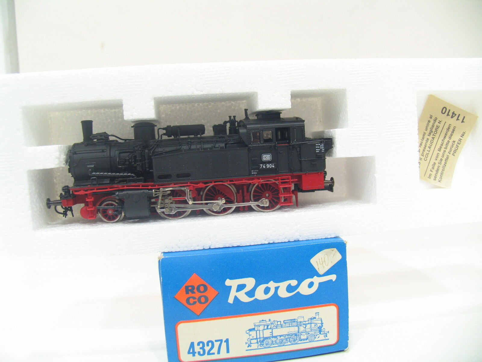 ROCO 43271 DAMPLOK BR 74 der DB BW1079