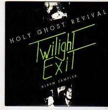 (FJ127) Holy Ghost Revival, Twilight Exit sampler - 2007 DJ CD