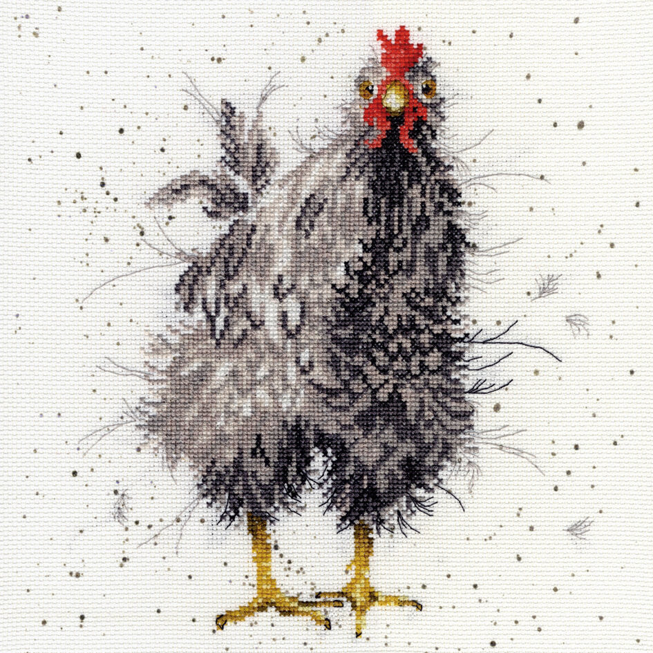 Curious Hen XHD17 Bothy Threads Counted Cross Stitch Kit