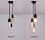 3-Heads Vintage Industrial Retro Loft Glass Ceiling Lamp Shade Pendant Light