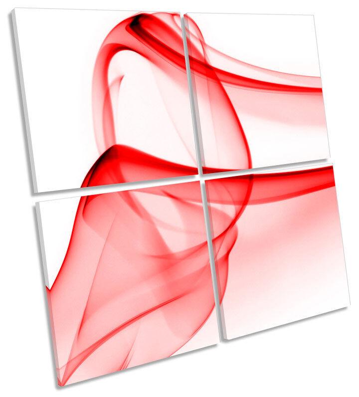 Design semplice astratti FUMO art. a a a muro Multi quadrato foto f49cac