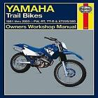 Yamaha Trail Bikes Automotive Repair Manual von Max Haynes (2013, Taschenbuch)