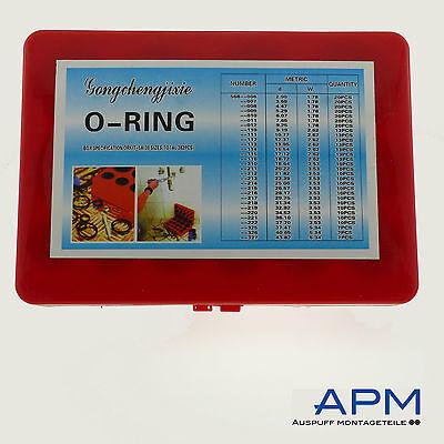 O-Ring Set 382 Stück NBR 70SH 30 Abmessungen Box-G