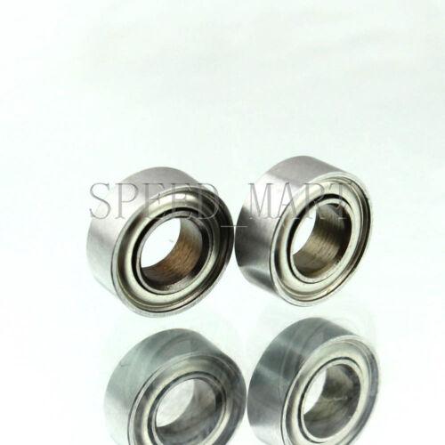 3mm*8mm*3mm 2 PCS MR83zz Mini Metal Double Shielded  Ball Bearings