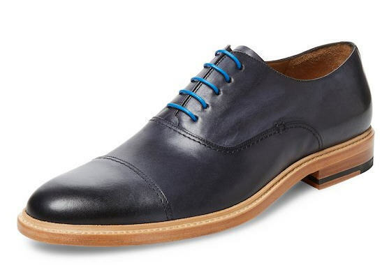 herren Modern Modern Modern Fiction Cap-Toe Leather Oxford 11.5 D MED NWB Charcoal grau d506e1