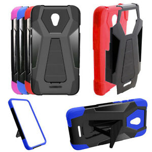 new style d4658 df63d Details about Phone Case for Alcatel Verso / Alcatel Cameo-X CameoX Cover  Wide-Stand - Cricket