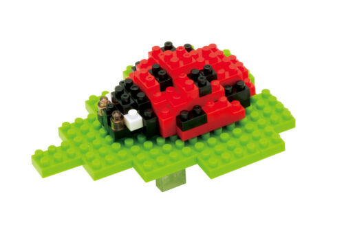 NEW NANOBLOCK Seven-Spot Ladybird Nano Block Micro-Sized Building Blocks IST-007