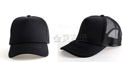 Unisex Classic Trucker Baseball Golf Mesh Cap Hat vintage many colors adjust