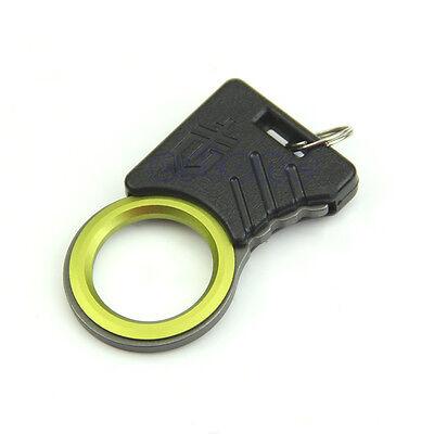Mini EDC Outdoor Survival Cutting Rope Device Lap-belt Cut Thumb Grip Key Tool