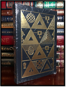 Ready-Player-One-SIGNED-by-ERNEST-CLINE-New-Sealed-Easton-Press-Leather-Bound