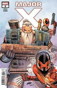 Major-X-6-Mini-Series-Conclusion-Liefeld-Marvel-Comic-2019-1st-Print-unread-NM