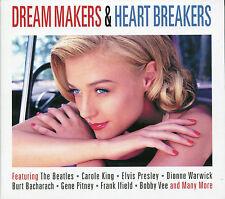 DREAM MAKERS & HEART BREAKERS - 2 CD BOX SET - THE BEATLES, CAROLE KING & MORE
