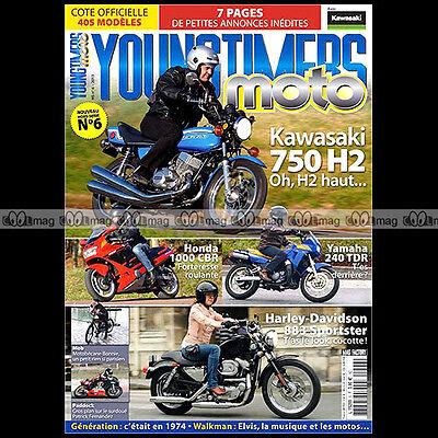 Competent Youngtimers Moto 6 Kawasaki 750 H2 Yamaha Tdr 240 Honda Cbr Harley Davidson Xlh Aromatische Smaak