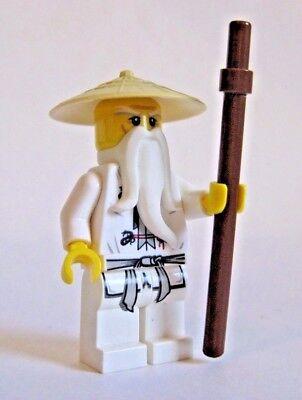 Lego SENSEI WU Ninjago Minifigure 9446