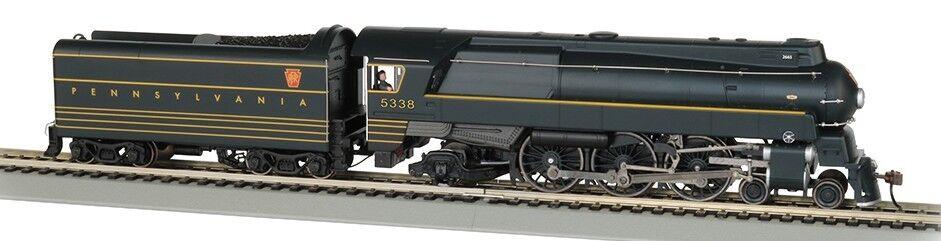 Bachmann HO Spectrum Streamined K4 -6 -2 Pacific Steam Locomotive w  Co BAC85304