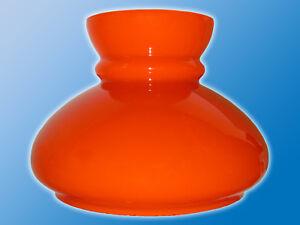 Lampen-Ersatzglas-Orange-Weiss-235mm-Milchglas-Lampenglas-V-12