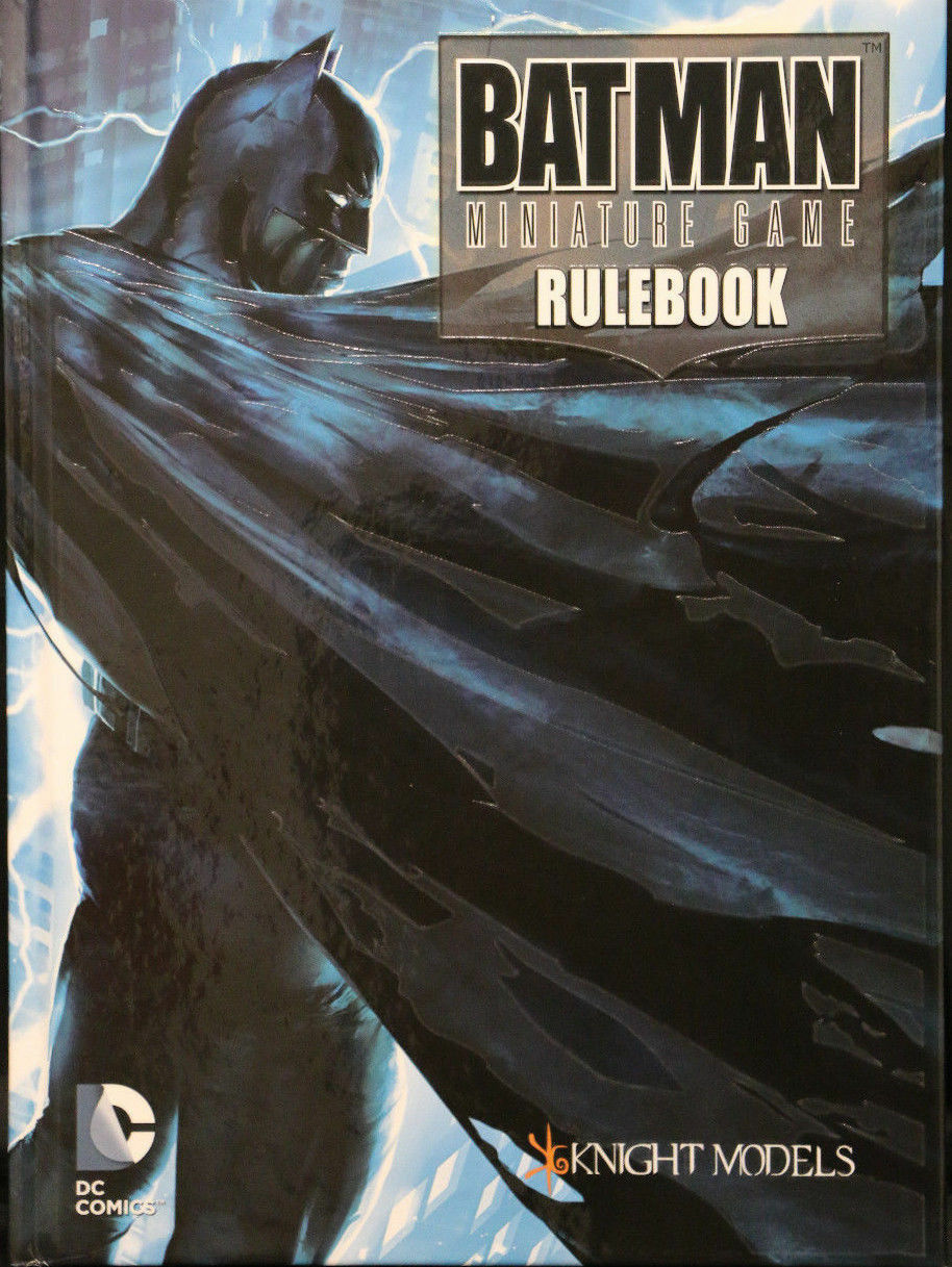 1x Batman Miniature Game  Deluxe Rulebook KSTBMG001