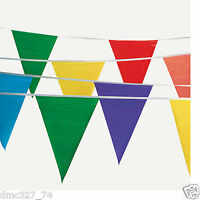 Carnival Big Top Circus Birthday Party Decoration 100 Ft Multi Color Flag Banner