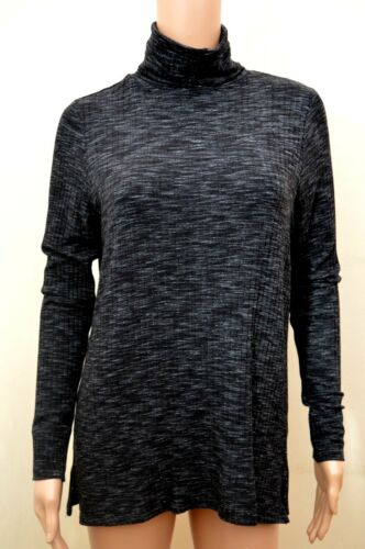 M/&S Autograph Light Grey OR Charcoal Polo Neck Jersey Jumper 10 12 14 16