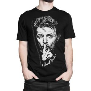 David-Bowie-Graphic-T-Shirt-Men-039-s-Women-039-s-All-Sizes
