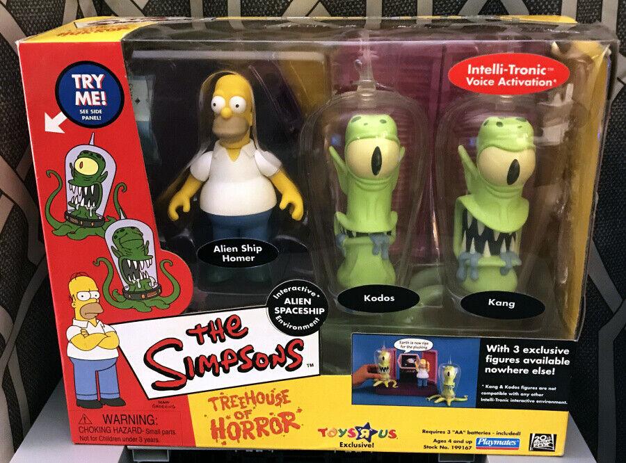Playmates Toys  R  Us The Simpsons Treehouse of Horror Alien Spaceship MIB NRFB