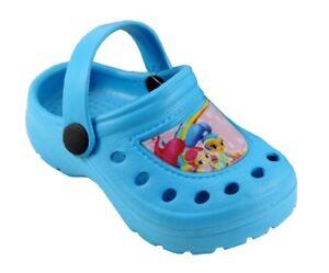 informazioni per 16d10 29bad Slippers Sea Baby Shimmer and Shine Model Clogs Girls 22/23 | eBay