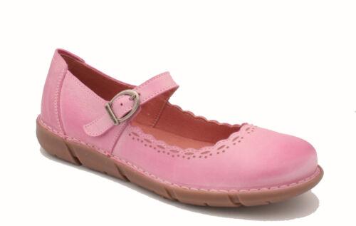 RRP £70.00 36-41 Oxygen Stitch Down Mary Jane Shoe Verona Pink Sizes 3-7.5