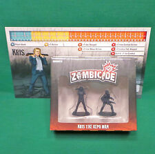 "Zombicide Season 3 ""Kris The Repo Man"" Kickstarter Zombie Miniature Figure"