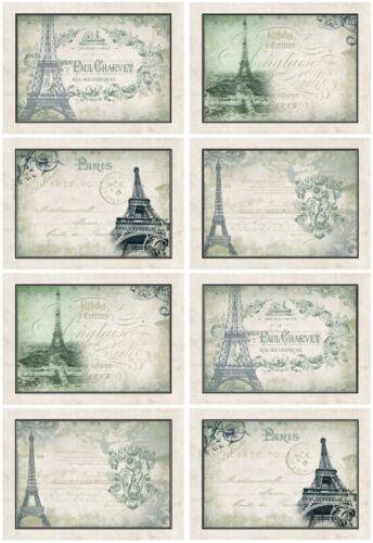 Decoupage-Bastelpapier-Softpapier-Vintage-Nostalgie-French-Paris-12410