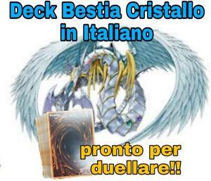Yu-Gi-Oh-Deck-Completo-Mazzo-BESTIA-CRISTALLO-40-Carte-ITALIANO-MYDECK