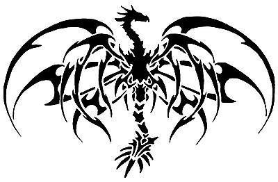 {Fantasy Stencils} | 10C | Dragon Bone wings large