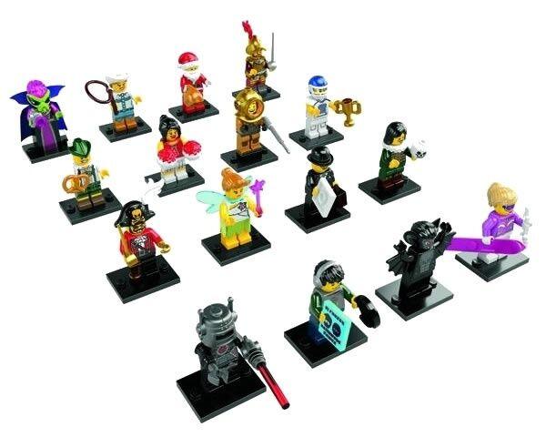 Nouveau Lego 8833 Jeu Complet Of 16 Mini Figurine S Série 8